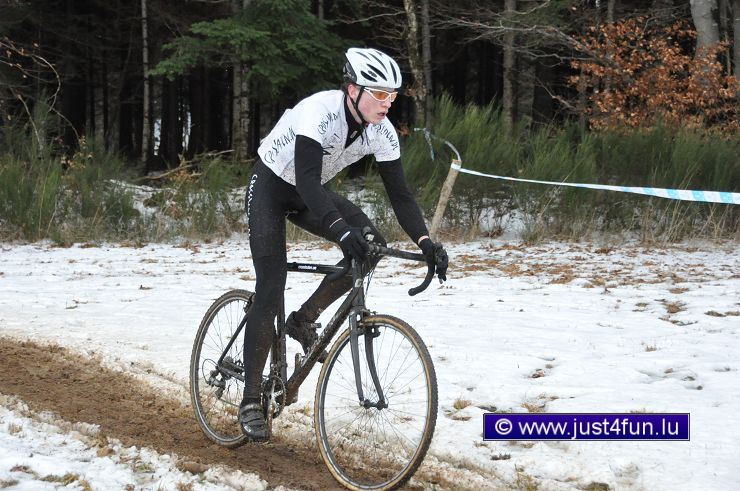 Andreas Thiel in Rambrouch - Foto: Crossfilmer